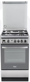 Плита газовая HOTPOINT-ARISTON H5GG5F (X) RU